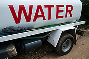 Water truck near Vathy, Ithaca, Greece. Ithaca, Ithaki or Ithaka is a Greek island located in the Ionian Sea to the west of continental Greece. Ithacas main island has an area of 96 square kilometres. It is the second-smallest of seven main Ionian Islands.