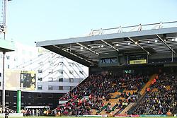 Bristol City fans before kick off - Mandatory by-line: Arron Gent/JMP - 23/02/2019 - FOOTBALL - Carrow Road - Norwich, England - Norwich City v Bristol City - Sky Bet Championship