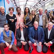NLD/Amsterdam/20130921 - Premiere Planes, groepsfoto