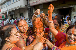 May 24, 2019, Kolkata, West Bengal, India: Celebrations continue in India as Bharatiya Janata Party (BJP) supporters cheer after Prime Minister Modi secured another five-year term in the general election. (Credit Image: © Amlan Biswas/Pacific Press via ZUMA Wire)