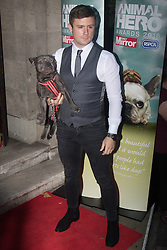 Grosvenor House Hotel, London, September 7th 2016. Celebrities attend the RSPCA's annual awards ceremony recognising the country's bravest animals and the individuals committed to improving their lives. PICTURED: Danny Boy Hatchard from Eastenders