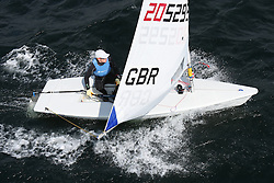 Day 4 NeilPryde Laser National Championships 2014 held at Largs Sailing Club, Scotland from the 10th-17th August.<br /> <br /> 205229, Laura GILMORE<br /> <br /> Image Credit Marc Turner
