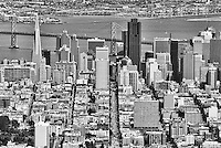 Aerial View, San Francisco Skyline