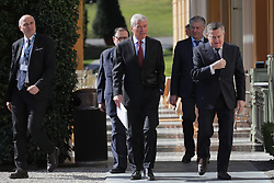 Carlo Sangalli, president Confcommercio at the Forum Confcommercio 20 edition, Market Leaders and scenarios for the 21th Century, Villa d' Este, Cernobbio (Como), Italy, 22 March 2019, (Credit Image: © Canio Romaniello/Soevermedia via ZUMA Press)