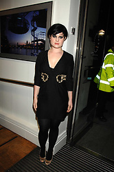 KELLY OSBOURNE at a party to celebrate the launch of the new Fiat 500 car held at the London Eye, Westminster Bridge Road, London on 21st January 2008.<br /><br />NON EXCLUSIVE - WORLD RIGHTS (EMBARGOED FOR PUBLICATION IN UK MAGAZINES UNTIL 1 MONTH AFTER CREATE DATE AND TIME) www.donfeatures.com  +44 (0) 7092 235465