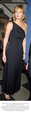MRS PAOLA THOLSTRUP at a dinner in London on 6th November 2002.			PEY 43 WO