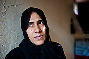 Teghreed lost her husband and her father-in-law to sectarian assassins before fleeing to Jordan.