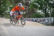 #17 (JONES Trent) NZL during practice at Round 5 of the 2018 UCI BMX Superscross World Cup in Zolder, Belgium