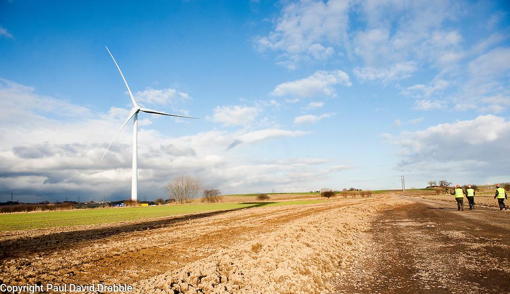 Ulley Wind Farm..13  March  2013.Image © Paul David Drabble