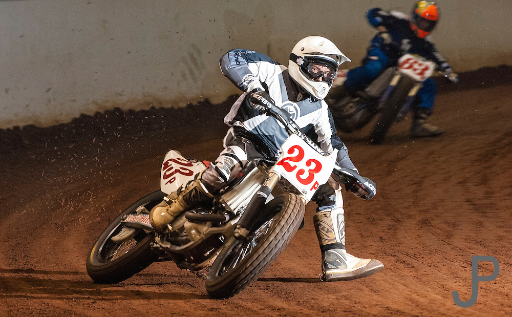Flat track racing at Lazy E Arena in Guthrie, OK