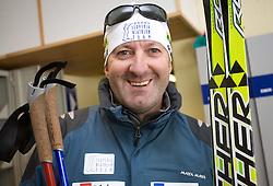 Bostjan Lekan, assistant coach of Slovenian men Biathlon Team at Dachstein glacier before new season 2008/2009, Austria, on October 30, 2008.  (Photo by Vid Ponikvar / Sportida)