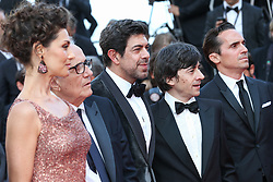 Pierfrancesco Favino, Maria Fernanda Candido, guest, Marco Bellocchio, Luigi Lo Cascio, Fausto Russo Alesi, and guest attend the screening of The Traitor during the 72nd annual Cannes Film Festival on May 23, 2019 in Cannes, France. Photo by Shootpix/ABACAPRESS.COM