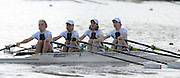 Amsterdam, HOLLAND, GBR2 W4X, Bow, Laura GREENHALGH, Mathilde PAULS, Jane HALL and Sophie HOSKING, at the start, 2007 FISA World Cup Rd 2 at the Bosbaan Regatta Rowing Course. 23.06.2007[Mandatory Credit: Peter Spurrier/Intersport-images]..... , Rowing Course: Bosbaan Rowing Course, Amsterdam, NETHERLANDS
