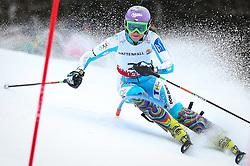 16.02.2013, Planai, Schladming, AUT, FIS Weltmeisterschaften Ski Alpin, Slalom, Damen, 1. Durchgang, im Bild Sarka Zahrobska (CZE) // Sarka Zahrobska of Czech Republic in action during 1st run of the Womens Slalom at the FIS Ski World Championships 2013 at the Planai Course, Schladming, Austria on 2013/02/16. EXPA Pictures © 2013, PhotoCredit: EXPA/ Johann Groder