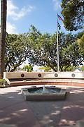 Veterans Memorial at Depot Park in Orange California