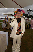 Sam Branson. Cartier International Day at Guards Polo Club, Windsor Great Park. July 24, 2005. ONE TIME USE ONLY - DO NOT ARCHIVE  © Copyright Photograph by Dafydd Jones 66 Stockwell Park Rd. London SW9 0DA Tel 020 7733 0108 www.dafjones.com