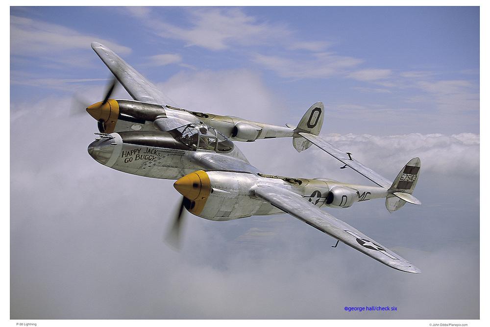 "P-38 ""Happy Jack"" air-to-air"