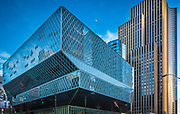 The Seattle Central Library is the flagship library of the Seattle Public Library system