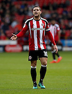 Billy Sharp of Sheffield United during the English Football League One match at Bramall Lane, Sheffield. Picture date: December 31st, 2016. Pic Jamie Tyerman/Sportimage