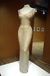 Marilyn Monroe's 'Happy Birthday Mr. President' Kleid beim Presse-Preview der Ausstellung 'Marilyn: Character not Image' im MANA Contemporary in Jersey City <br /> <br /> / 220916<br /> <br /> *** Marilyn: Character not Image exhibition in Jersey City; September 22nd, 2016 ***