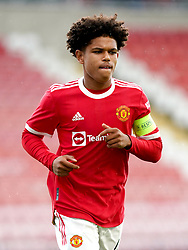 Manchester United's Shola Shoretire during the UEFA Youth League, Group F match at Leigh Sports Village, Manchester. Picture date: Wednesday September 29, 2021.