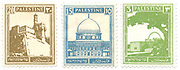 Three Palestine (British Mandate) pre 1948 stamps