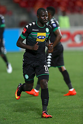 Deon Hotto of Bloemfontein Celtic during the 2016 Premier Soccer League match between Chippa United and Bloemfontein Celtic held at the Nelson Mandela Bay Stadium in Port Elizabeth, South Africa on the 25th October 2016<br /><br />Photo by:   Richard Huggard / Real Time Images