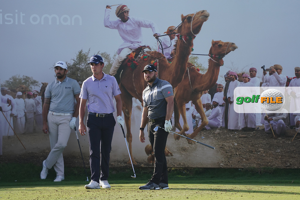 Jordan Smith (ENG) on the 8th during Round 2 of the Oman Open 2020 at the Al Mouj Golf Club, Muscat, Oman . 28/02/2020<br /> Picture: Golffile   Thos Caffrey<br /> <br /> <br /> All photo usage must carry mandatory copyright credit (© Golffile   Thos Caffrey)