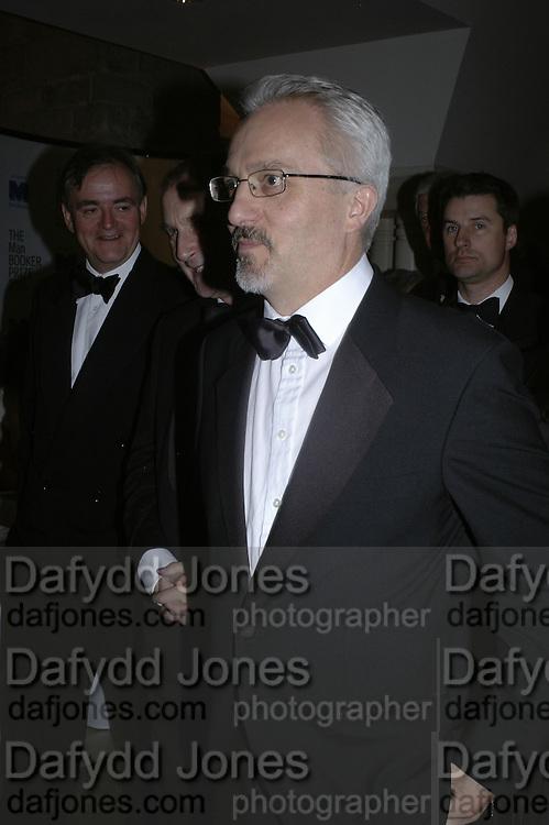 Alan Hollingsworth, Drinks Reception before the Man Booker Prize 2006. Guildhall, Gresham Street, London, EC2, 10 October 2006. -DO NOT ARCHIVE-© Copyright Photograph by Dafydd Jones 66 Stockwell Park Rd. London SW9 0DA Tel 020 7733 0108 www.dafjones.com