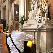 As one of Rome's four papal basilicas, Santa Maria Maggiore is an imposing church with treasures within, including the tomb of Bernini.