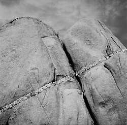 Jumbo Rocks in Joshua Tree, California
