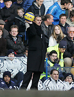Photo: Lee Earle.<br /> Chelsea v Portsmouth. The Barclays Premiership. 25/02/2006. Chelsea manager Jose Mourinho.