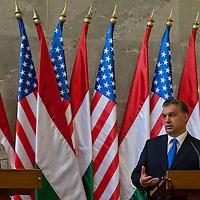 Hillary Rodham Clinton visits Viktor Orban