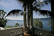 Italy, Maggiore Lake, Isola Madre, the historical and luxurious Hotel Majestic.