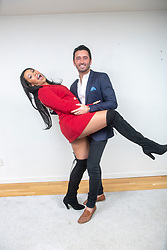 """Victoria Obahor and Brian Matthews, stars of the new Channel 4 series """"Sex Tape"""",  which starts at the end of April. Pic at home in Glasgow."""