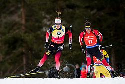 March 24, 2019 - Oslo, NORWAY - 190324 Johannes Thingnes Bø of Norway competes in the men's 15 km mass start during the IBU World Cup on March 24, 2019 in Oslo..Photo: Jon Olav Nesvold / BILDBYRÃ…N / kod JE / 160428 (Credit Image: © Jon Olav Nesvold/Bildbyran via ZUMA Press)