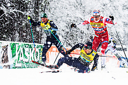 Federico Pellegrino (ITA) during Man team sprint race at FIS Cross Country World Cup Planica 2019, on December 22, 2019 at Planica, Slovenia. Photo By Peter Podobnik / Sportida