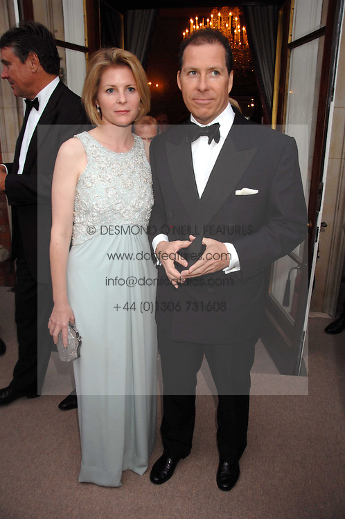 VISCOUNT & VISCOUNTESS LINLEY at the Ark 2007 charity gala at Marlborough House, Pall Mall, London SW1 on 11th May 2007.<br /><br />NON EXCLUSIVE - WORLD RIGHTS
