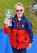 Bled, SLOVENIA,   GBROWING team Manager David TANNER with the World Cup team Trophy  at the 1st FISA World Cup. Rowing Course. Lake Bled.  Sunday  30/05/2010  [Mandatory Credit Peter Spurrier/ Intersport Images]