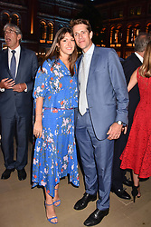 Ben Elliot and Mary-Clare Elliot at the Victoria & Albert Museum's Summer Party in partnership with Harrods at The V&A Museum, Exhibition Road, London, England. 20 June 2018.