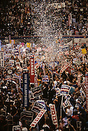 Democratic convention in 1992. ..Photograph by Dennis Brack bb24