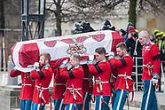 Prince Henrik's funeral.