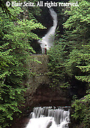 Buck Hill waterfalls, Pocono Mountains, Pike Co., NE PA
