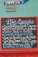 Restaurant menu Canta Rana