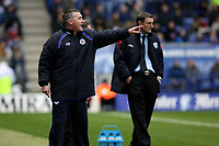 Photo: Pete Lorence.<br />Leicester City v West Bromwich Albion. Coca Cola Championship. 24/02/2007.<br />Leicester manager, Rob Kelly, commands from the sidelines.