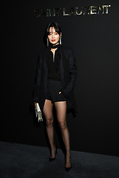 Xin Zhiley attends the Saint Laurent show as part of the Paris Fashion Week Womenswear Fall/Winter 2019/2020 on February 26, 2019 in Paris, France. Photo by Laurent Zabulon/ABACAPRESS.COM