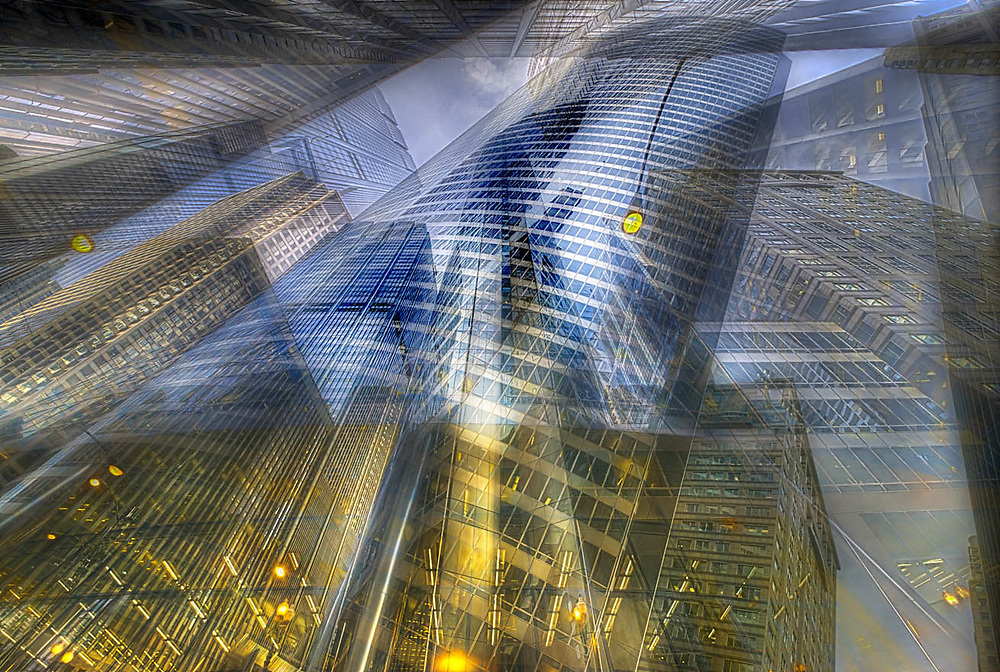 Architectural, geometric abstracts. Geometrispectives. Digital photography.