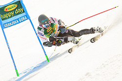 March 9, 2019 - Kranjska Gora, Kranjska Gora, Slovenia - Tommy Ford of United States of America in action during Audi FIS Ski World Cup Vitranc on March 8, 2019 in Kranjska Gora, Slovenia. (Credit Image: © Rok Rakun/Pacific Press via ZUMA Wire)