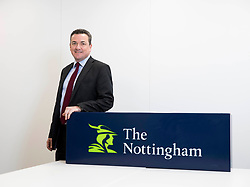 EDITORIAL USE ONLY David Marlow, CEO of The Nottingham Building Society, announces that the firm is to open seven new branches in market towns across the Midlands, Cambridgeshire and Norfolk, as it continues to invest in other banks and building society branches that are due for closure, at their headquarters in Nottingham.