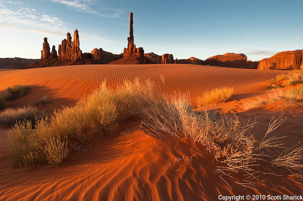 The Totem Pole in Monument Valley at sunrise. Missoula Photographer